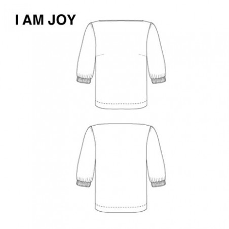 Dessin technique blouse Joy