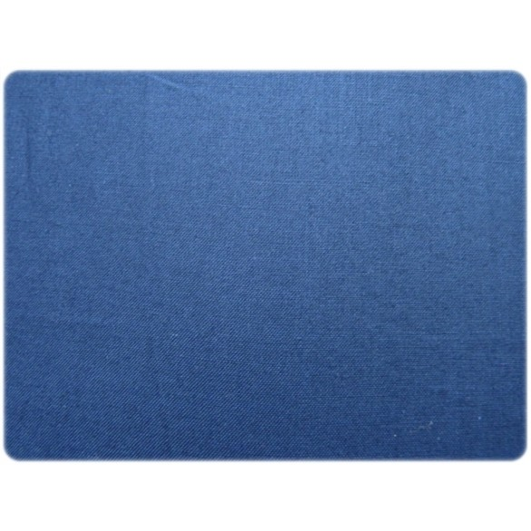 Popeline bleu électrique
