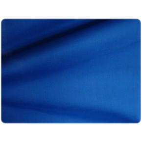 Popeline de coton bleu électrique
