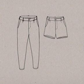 Patron short et pantalon mince alors