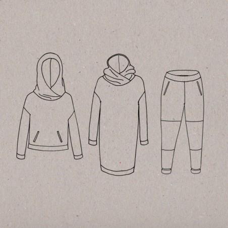 Ensemble jogging moodies - Aime comme Marie