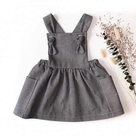 robe tablier milano - ikatee