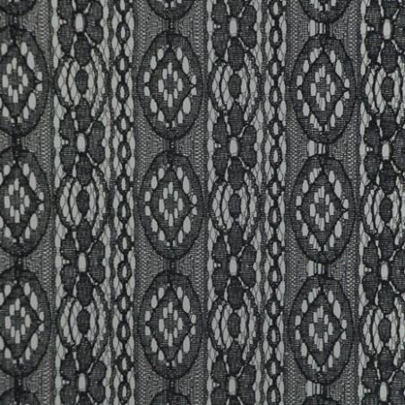 dentelle lisa noire